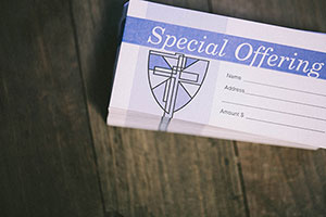 Special Offering Envelope